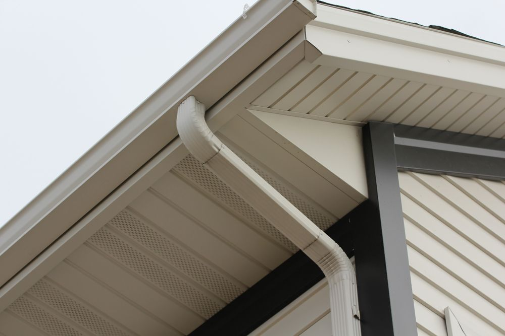 How Much Did It Cost To Replace Or Install Your Rain Gutters Downspouts How To Install Gutters Gutters Cleaning Gutters