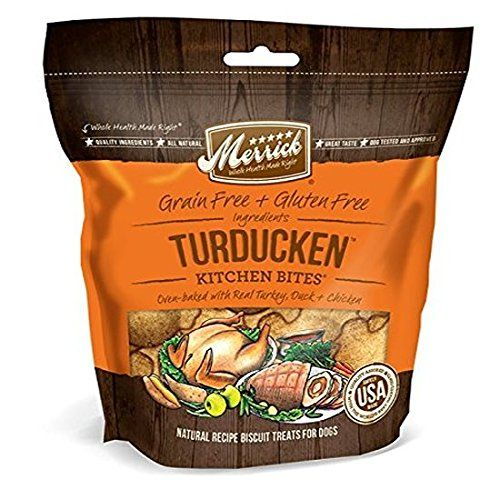 Merrick Grain Free Kitchen Bites Dog Treats, 9 oz -- Special dog product just for you. See it now! : Dog Treats