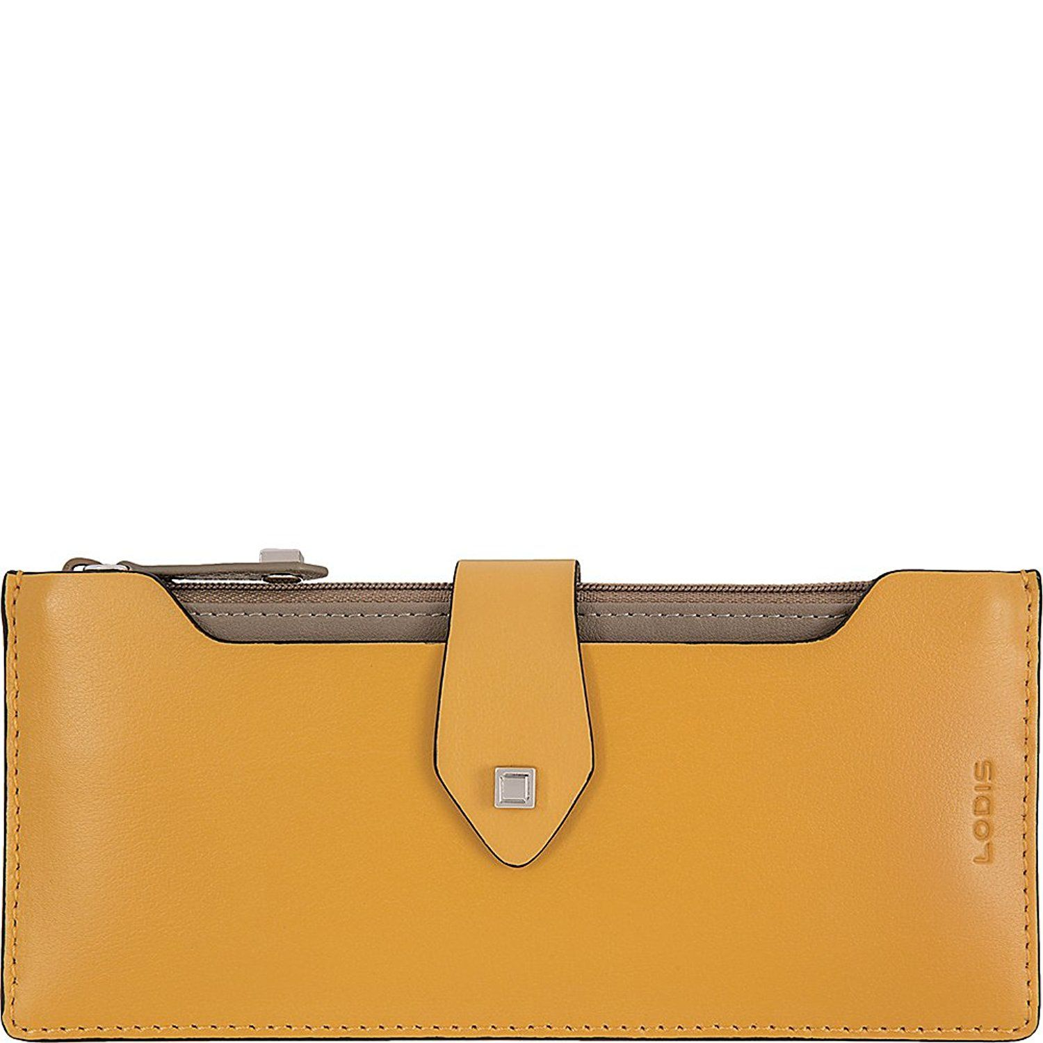 e4617f4d7b2a Lodis Blair Sandy Pouch Wallet (Honey/Taupe) at Amazon Women's Clothing  store: