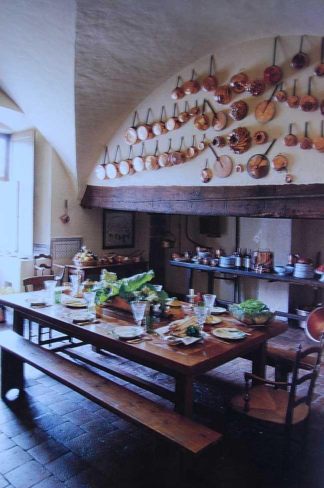 Dream Kitchen Rustic Tuscan The Copper Pots Pans