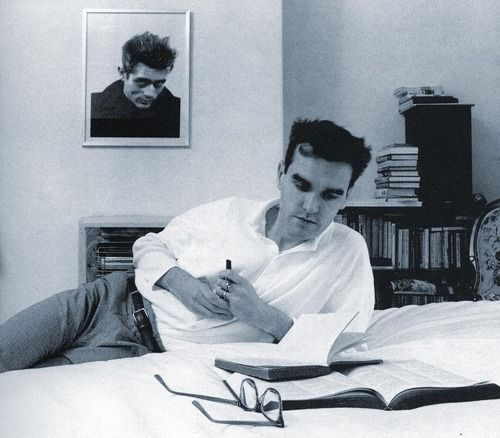 Morrissey en pleine action. #icon #smiths