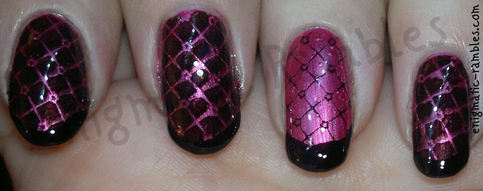 Ring Finger Stamping - Enigmatic Rambles