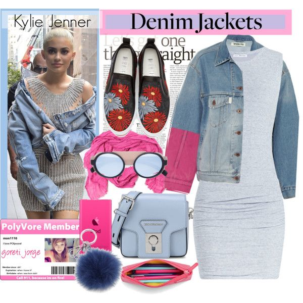 How To Wear Kylie Jenner -Jean Jackets Outfit Idea 2017 - Fashion Trends Ready To Wear For Plus Size, Curvy Women Over 20, 30, 40, 50