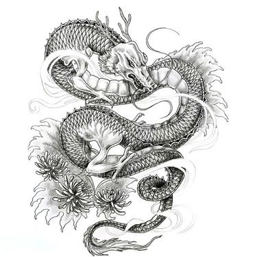 Black Color 3d Spider Realistic Tattoo Design Japanese Dragon Tattoo Dragon Tattoos For Men Dragon Tattoo