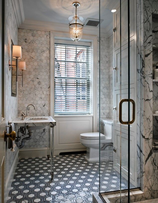 A White Bathroom Done Right Brooklyn Heights Bath And Interiors