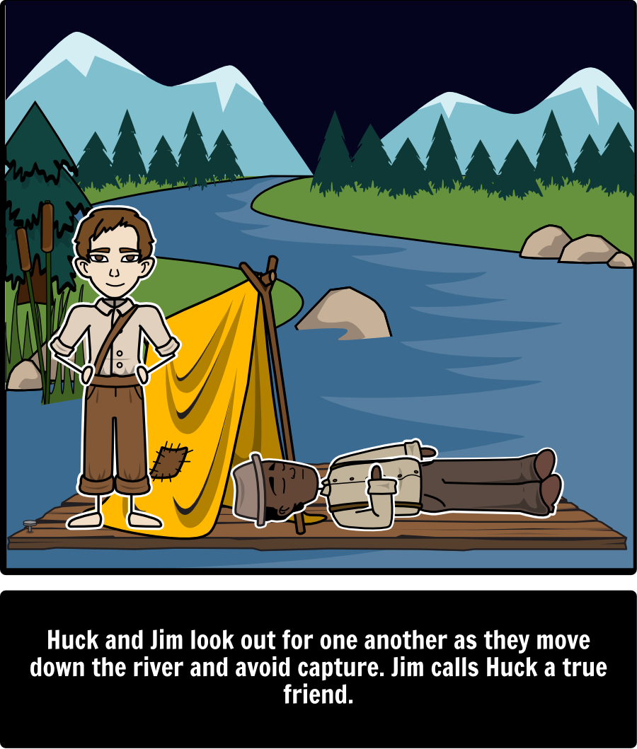 the adventures of huckleberry finn by mark twain character map the adventures of huckleberry finn by mark twain themes symbols and motifs