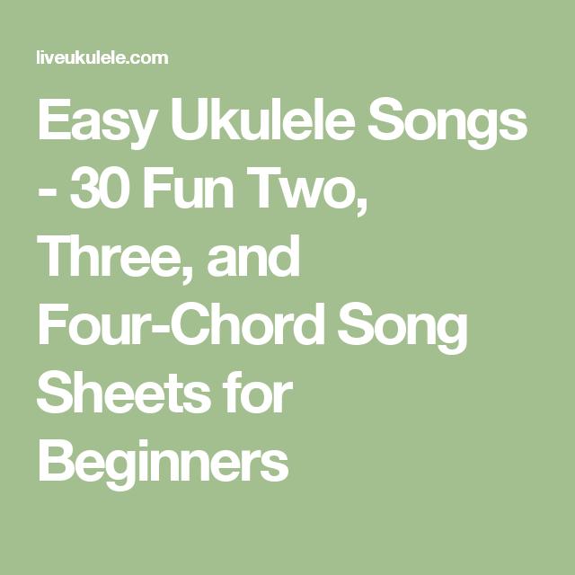 Easy Ukulele Songs Chords To 30 Beginner Songs Making Music