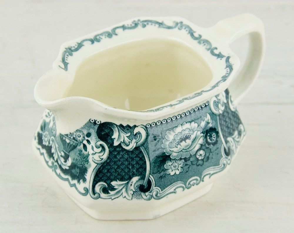 NEW YEAR SALE 50 off Romantic tiny pitcher от CrystalBlueVintage