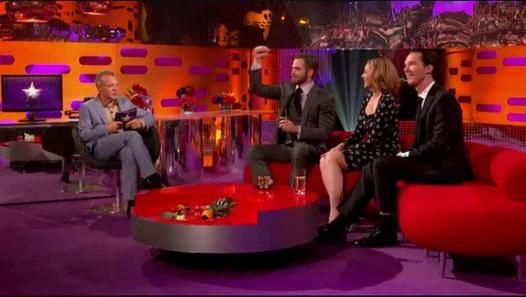 May 3, 2013 ~ Benedict Cumberbatch and Chris Pine are interviewed on THE GRAHAM NORTON SHOW (BBC) to promote STAR TREK: INTO DARKNESS (2013). (40 minutes, 21 seconds) [Video]