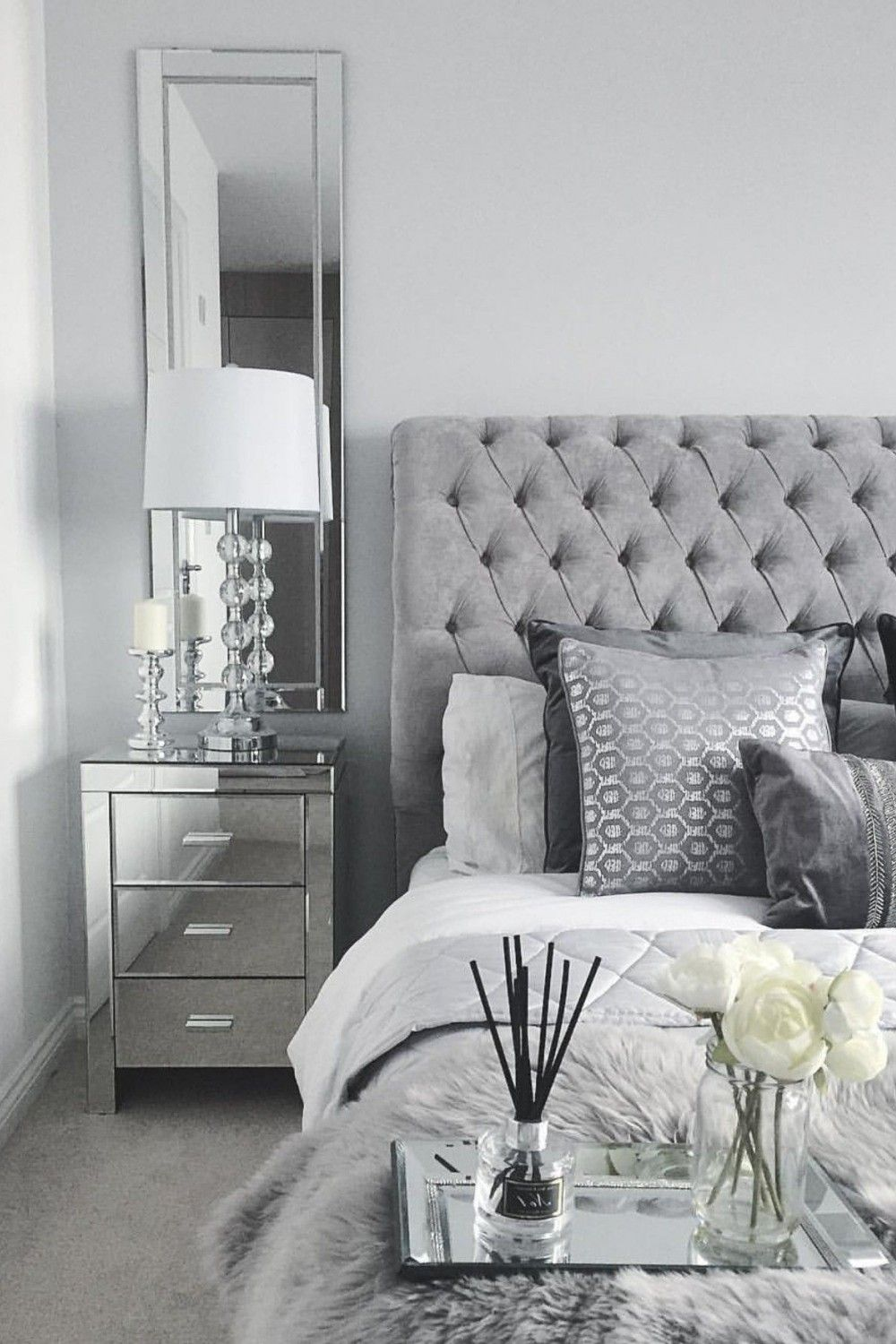 29 Best Of Grey And Silver Bedroom Ideas Silver Bedroom White