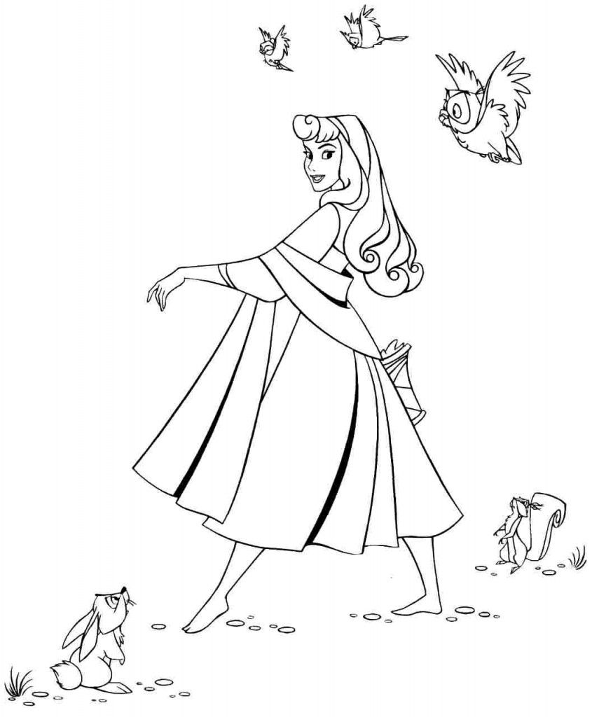 Free Printable Sleeping Beauty Coloring Pages For Kids Sleeping Beauty Coloring Pages Princess Coloring Pages Disney Coloring Pages