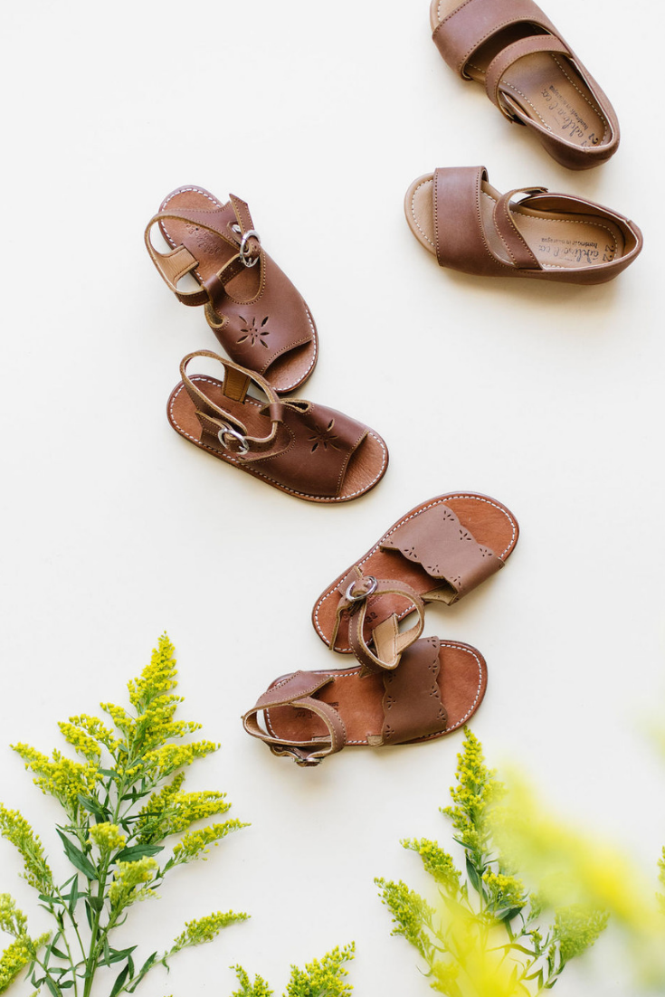 da1b3fc13233 Adelisa   Co s handmade leather sandals for girls are so simple and pretty.  I love