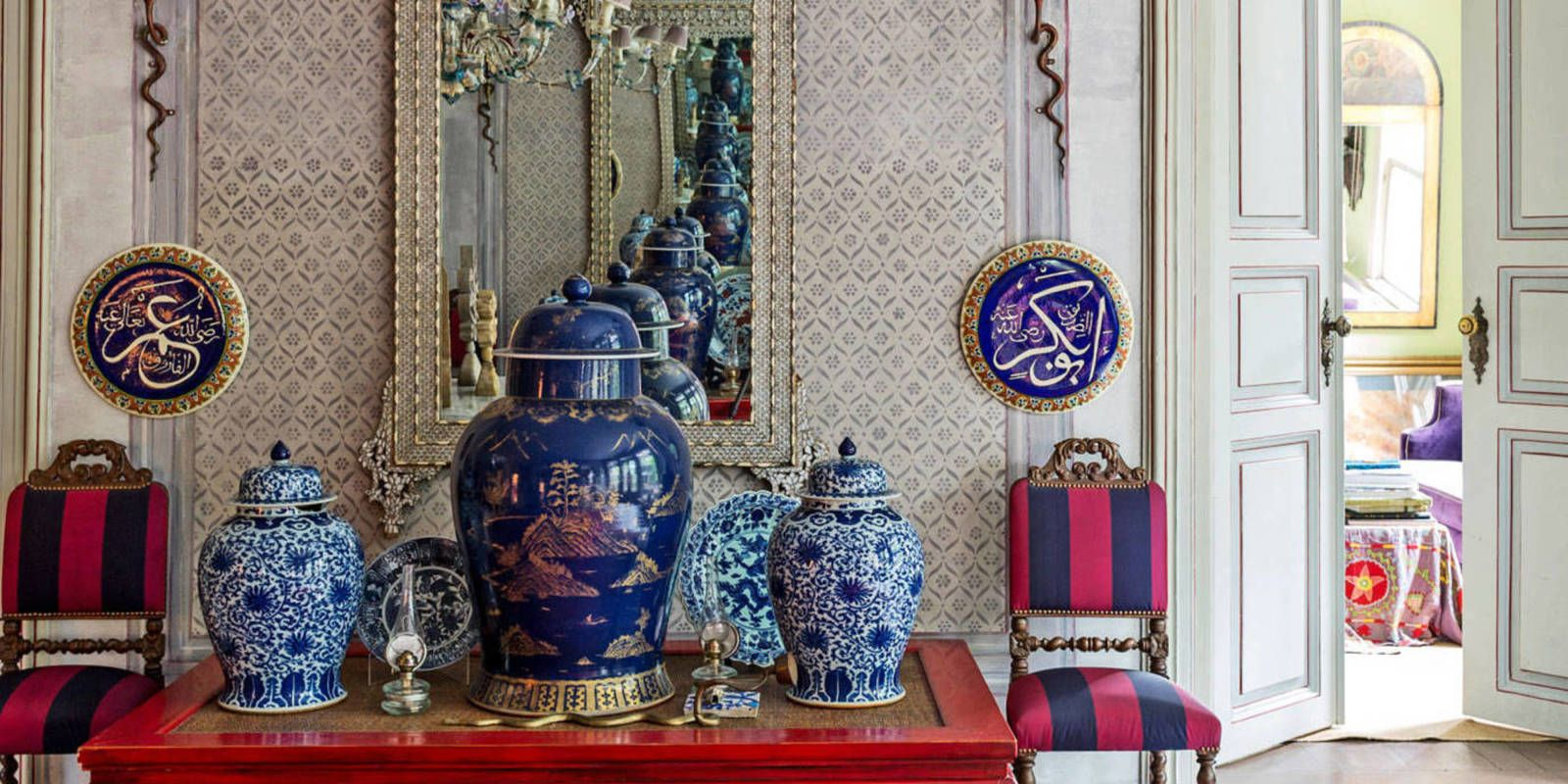 On a hilltop in Istanbul, overlooking a sweep of the Bosphorus strait, sits a fantasy of Ottoman opulence, its rooms filled with the enticing secrets of Turkish bazaars.
