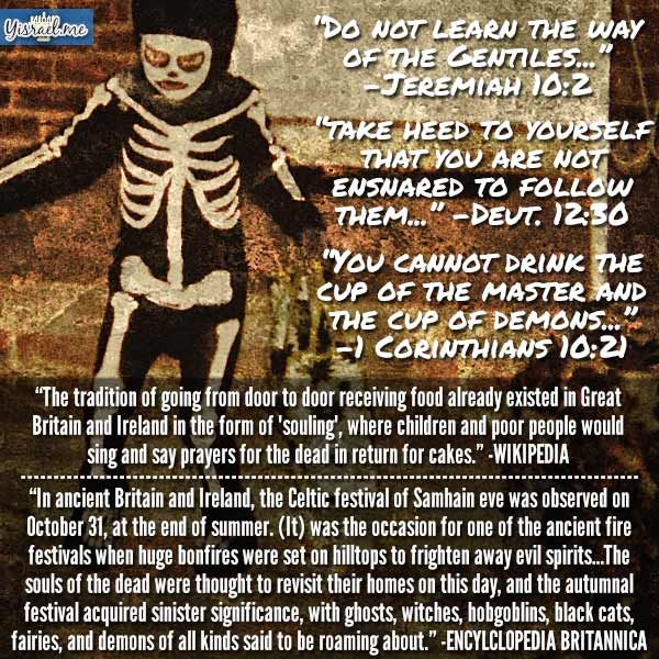 truth about halloween 1 corinthians 10 2 iam