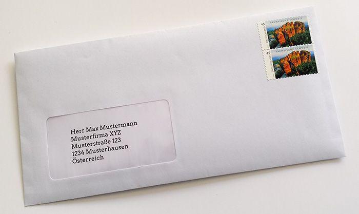 Brief nach Österreich Was kostet ein brief, Brief, Ein brief