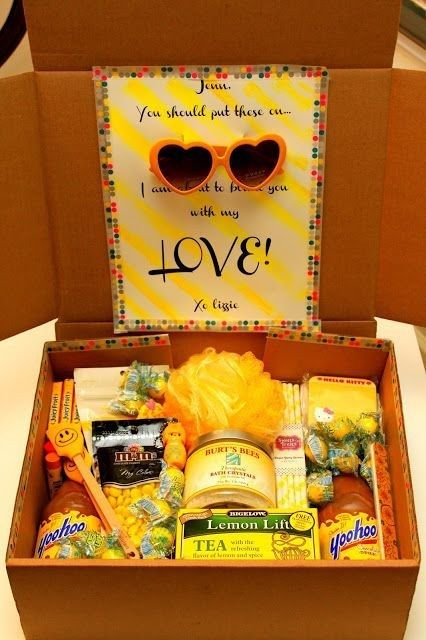 The Box Of Sunshine Care Package Box Of Sunshine