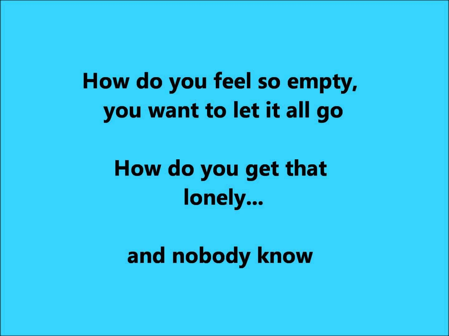 How Do You Get That Lonely?  Blaine Larsen.wmv