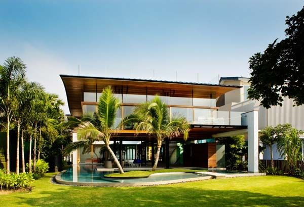 house modern architecture tropical house inspiration decor 11558 design ideas