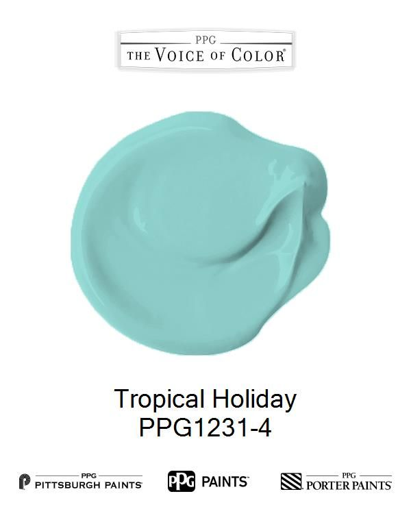 tropical holiday ppg1231 4 ppg paint paint colors on paint colors for professional office id=37479