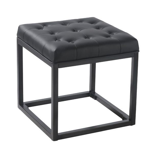 You Ll Love The Delia Ottoman At Allmodern With Great Deals On Modern Living Room Furniture Products And Free Ship Square Ottoman Ottoman Upholstered Ottoman