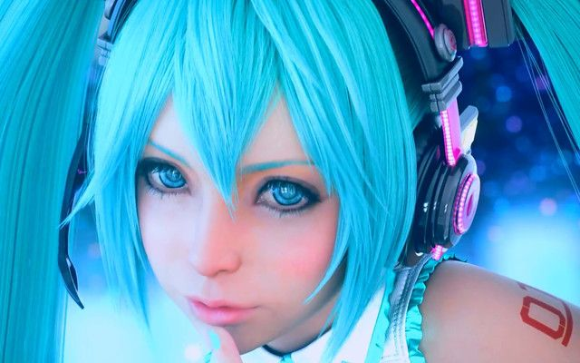 Hatsune Miku Is Practically Real With Square Enix S Graphics Technology Hatsune Miku Hatsune Miku