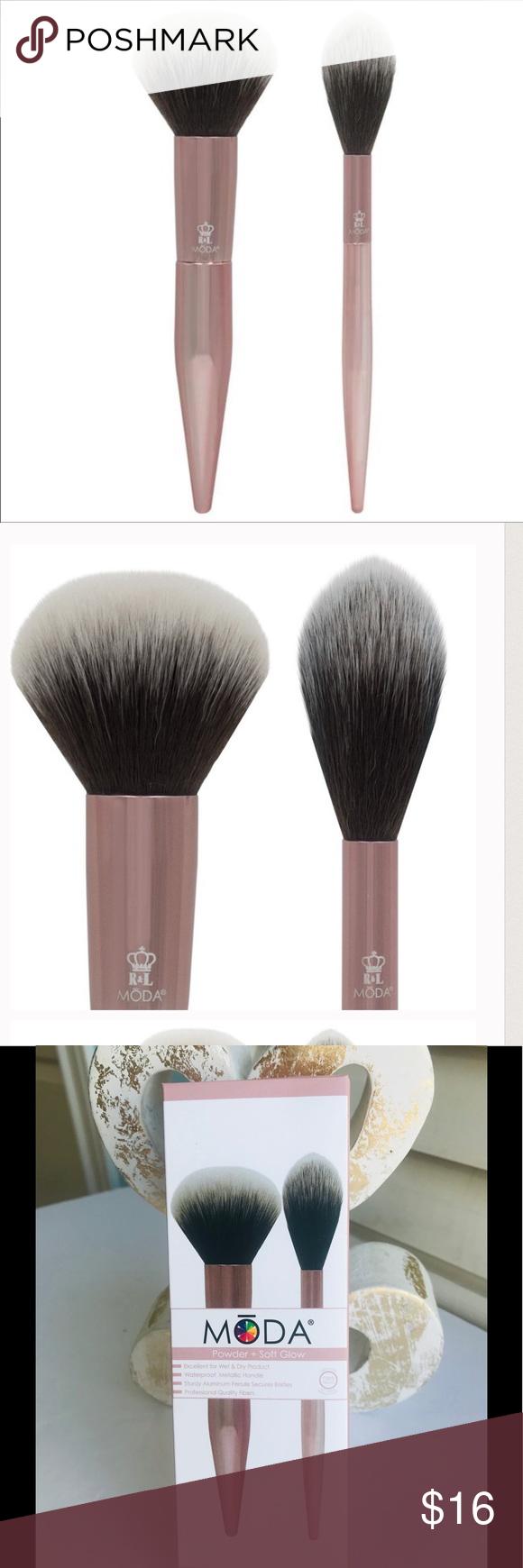 NWT NIB MODA Powder and Highlighter Brushes Highlighter