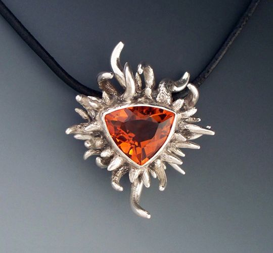 Helios Pendant by Marco Fleseri jewelry Pinterest Metal clay