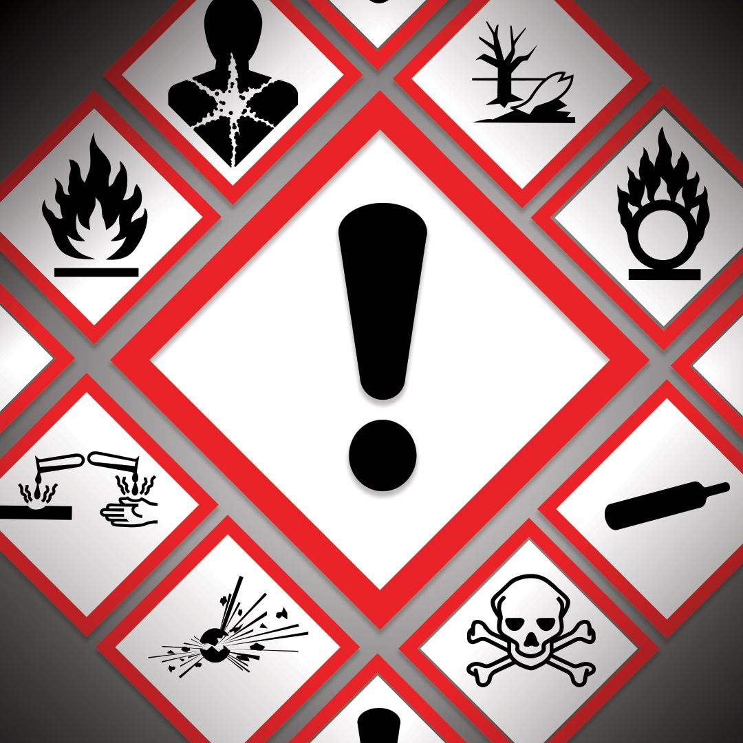 There are some differences in hazard pictogram