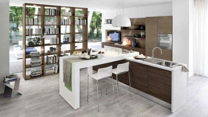 cuisine tagre de livres - Etagere Cuisine Moderne