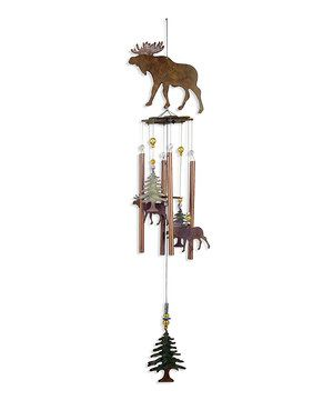 The soft, soothing sounds of this wind chime create a