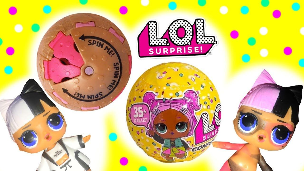 LOL Surprise CONFETTI POP Series 3 Dolls Blind Bag Ball