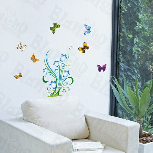 Wonderland Wall Decals Stickers Appliques Home Decor By Hemu