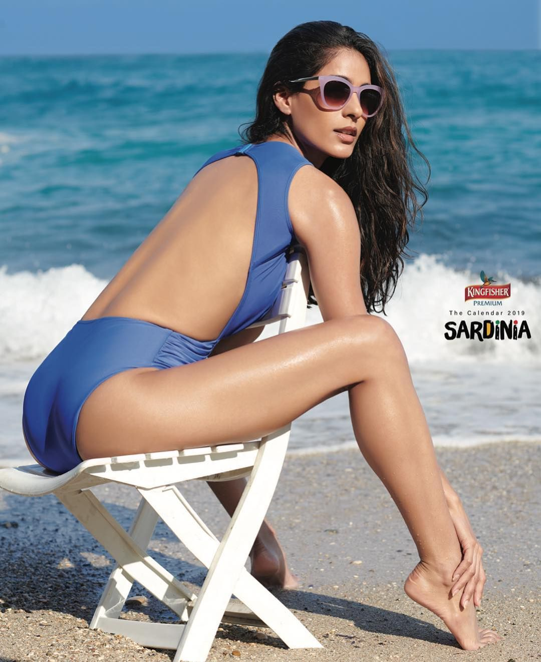 The Gorgeous Diva Dhawan Photographed At The Edge Of The Water On