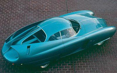 1954 Alfa Romeo Tecnica Concept.
