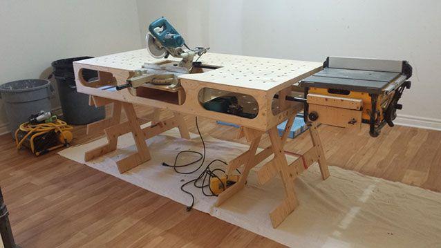 View Ron Paulk Workbench Plans Free Background
