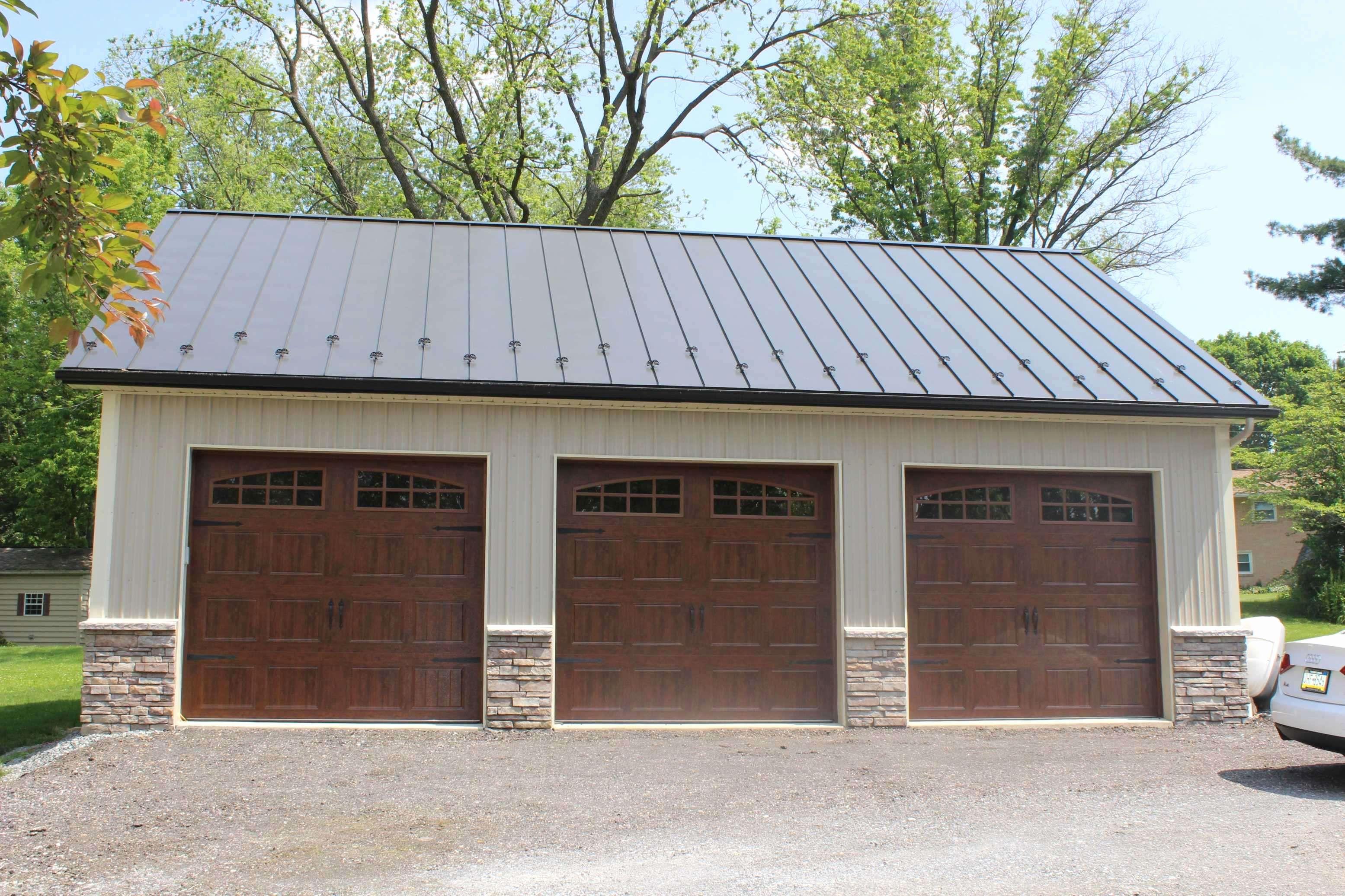 25 Nice Driveway Apron Garage door design, Metal garage