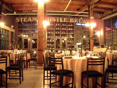 Steam Whistle Brewing loft, Toronto Wedding venues