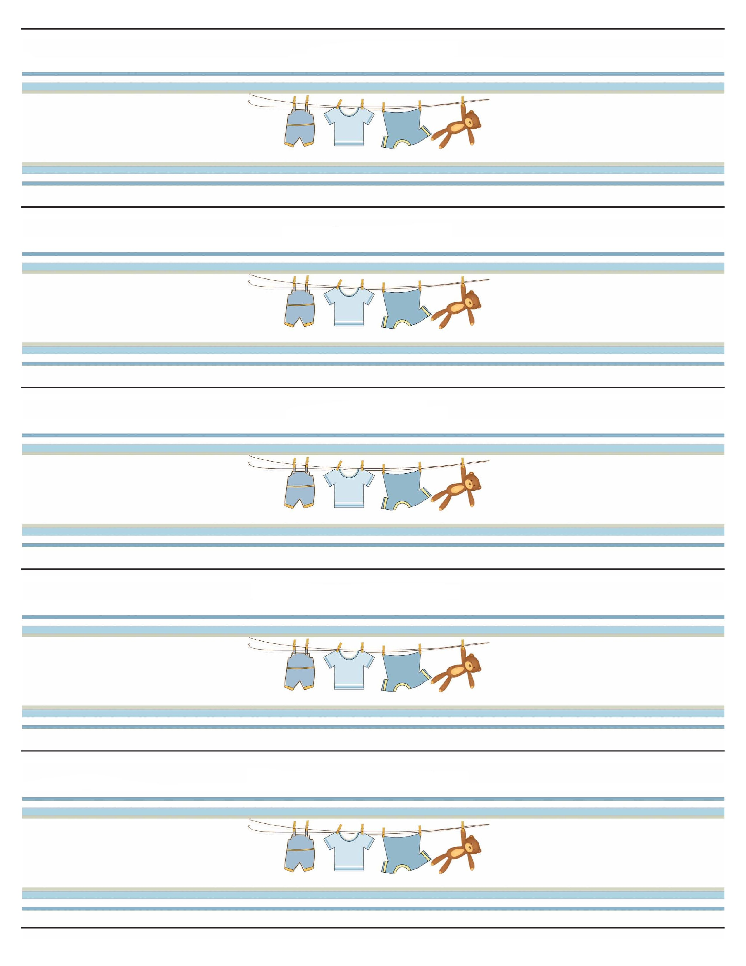 Free Baby Shower Printables Water Bottle Labels
