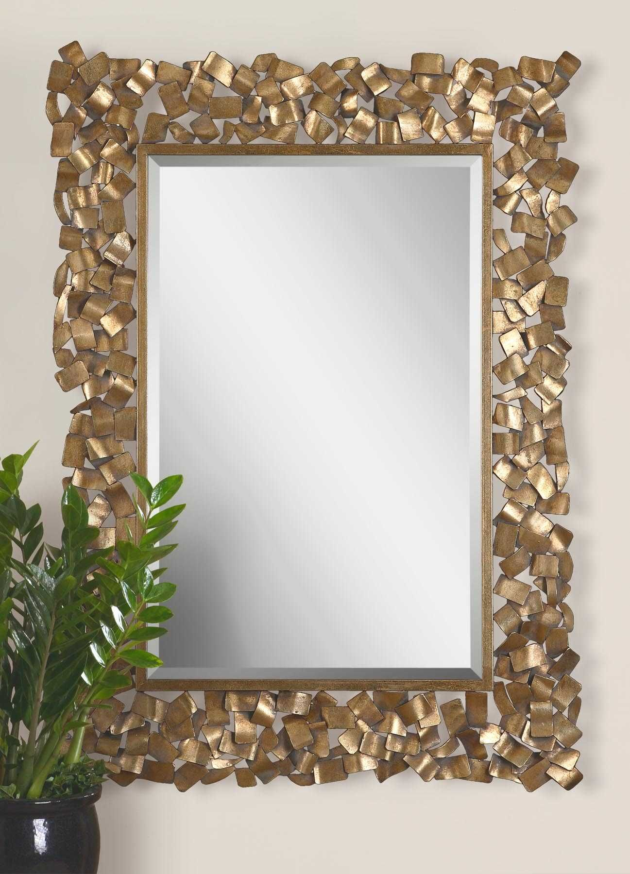 Capulin Mirror Uttermost Antique Gold Mirror Gold Mirror Uttermost Mirrors