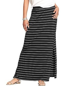 great look choose latest sophisticated technologies black and white striped maxi skirt @ old navy   Womens maxi ...