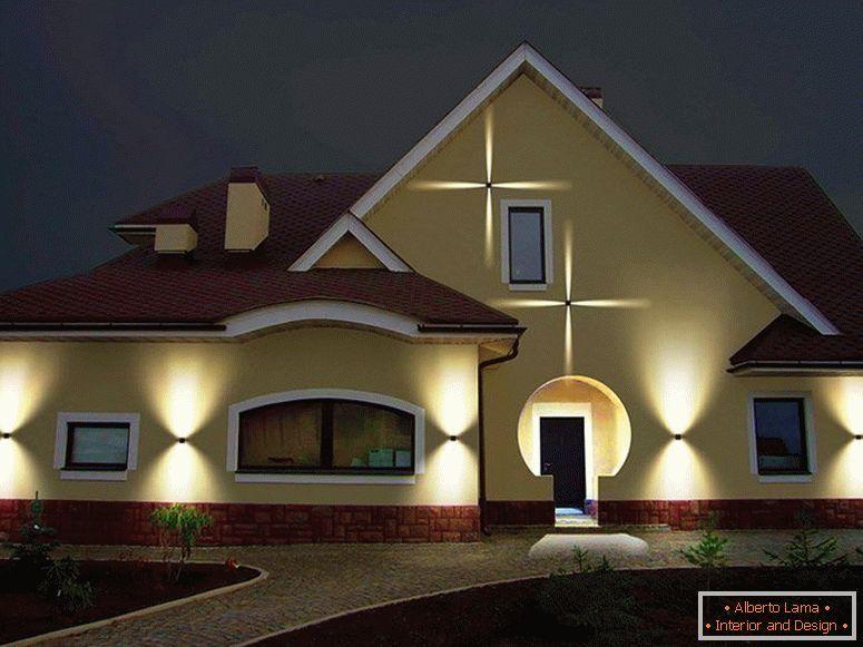 Spoljasnja rasveta in 2020 House styles, Facade, Home decor