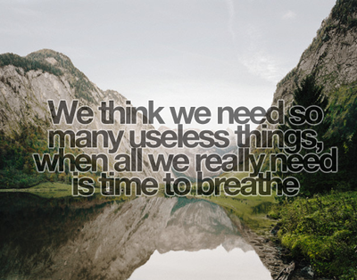 Here's to BREATHING!