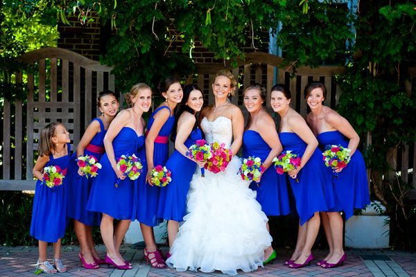 Real Bridesmaids In Beige Bridesmaid Dresses: West Orange New Jersey Real Wedding