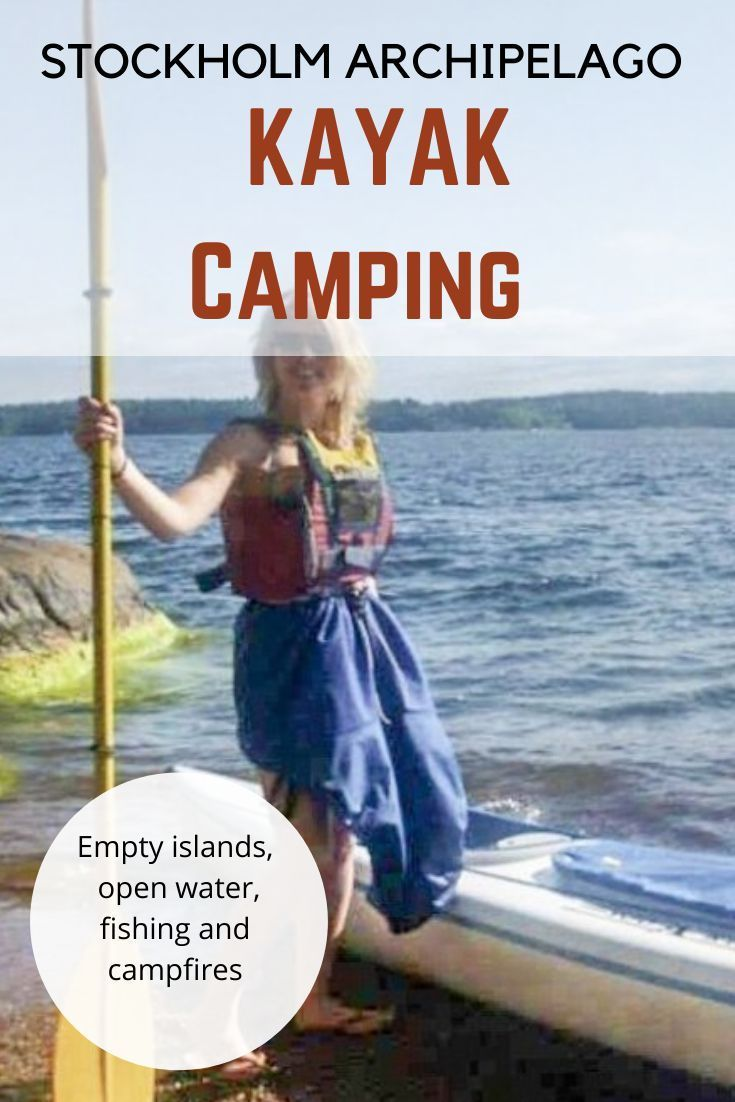 Photo of Kayak and wild camp the Stockholm Archipelago