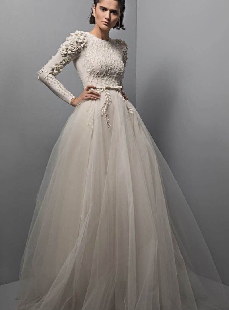 Chana marelus spring bridal aria gown wedding dresses