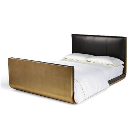 Calvin Klein Bed All The Way Up Back And Over Top Ceiling Mounted With Images Bed Furniture Luxe Bedroom Bedroom Furniture