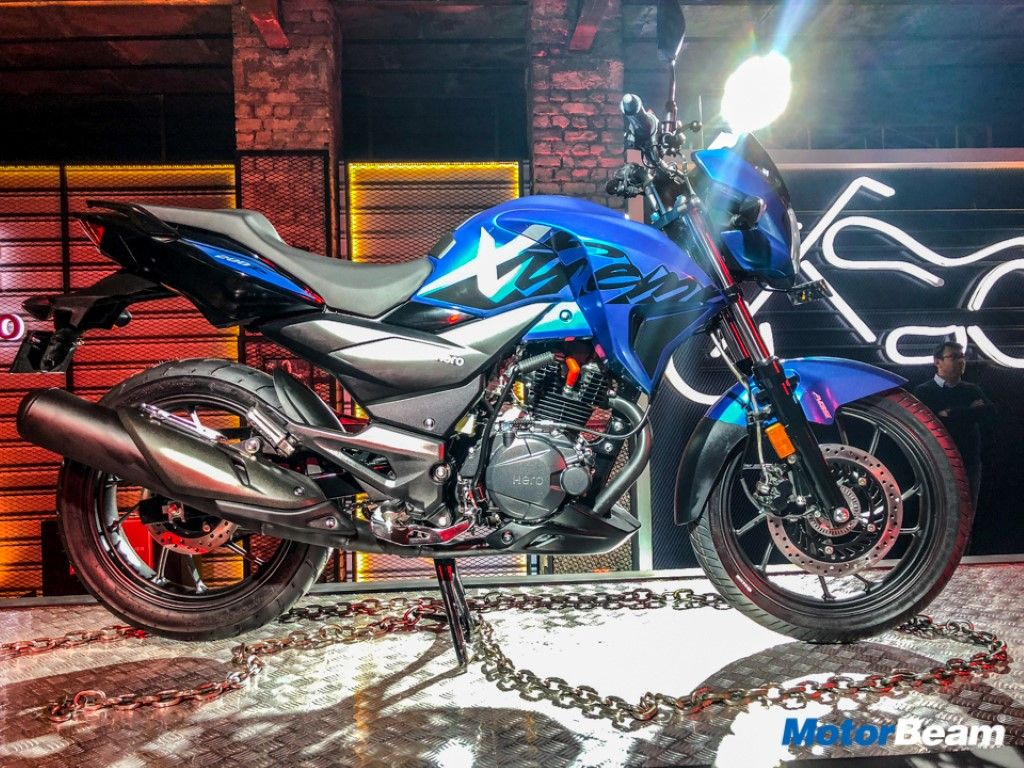 Hero Xpulse 200 To Be Powered By Xtreme 200r Engine Super Bikes
