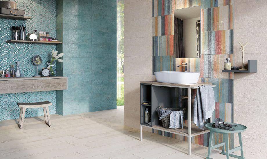 Raku u naxos ceramica new home bathroom nel tiles