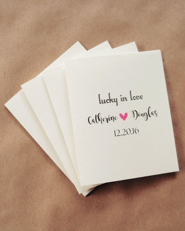 Lottery Ticket Holder Wedding Favors, Cream Color, Bridal Shower ...