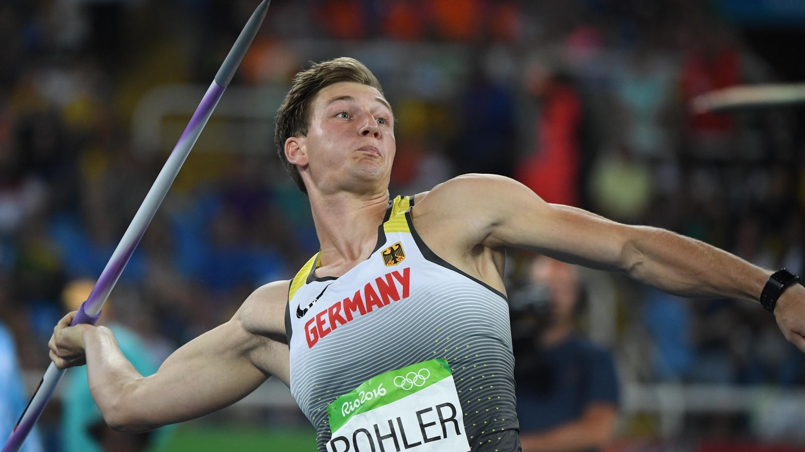 Olympics 2016 Thomas Röhler wins gold in men's javelin